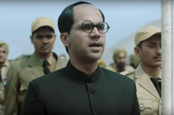 Rajkummar Rao as Subhash Chandra Bose