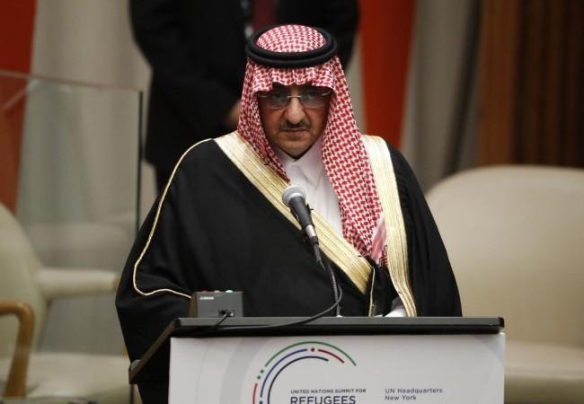 Prince Muhammad bin Nayef of Saudi Arabia