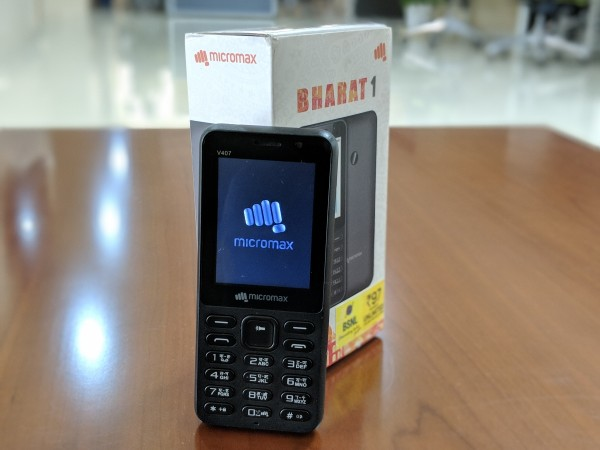 Micromax Bharat 1 Review