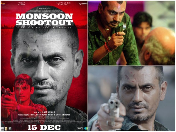 Poster of actor Nawazuddin Siddiqui's Monsoon Shootout released