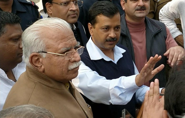 Kejriwal meets Khattar on air pollution