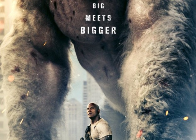 Dwayne Johnson Battles Giant Monsters in 'Rampage' Trailer