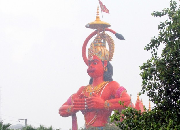 Delhi court suggests removing Hanuman statue