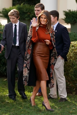 Melania Trump dresses