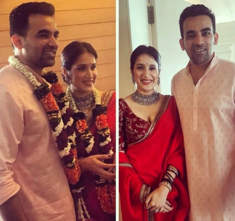 Its Official! Cricketer Zaheer Khan And Actress Sagarika Ghatge Are Now Married