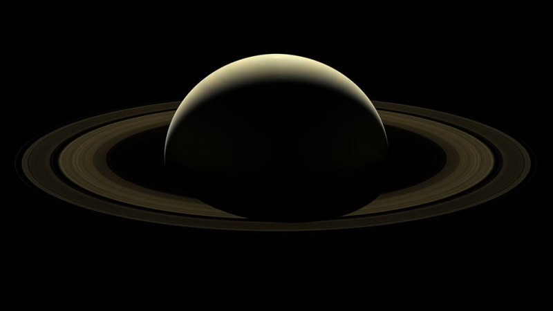 NASA releases Cassini's 'farewell image' of Saturn and its moons