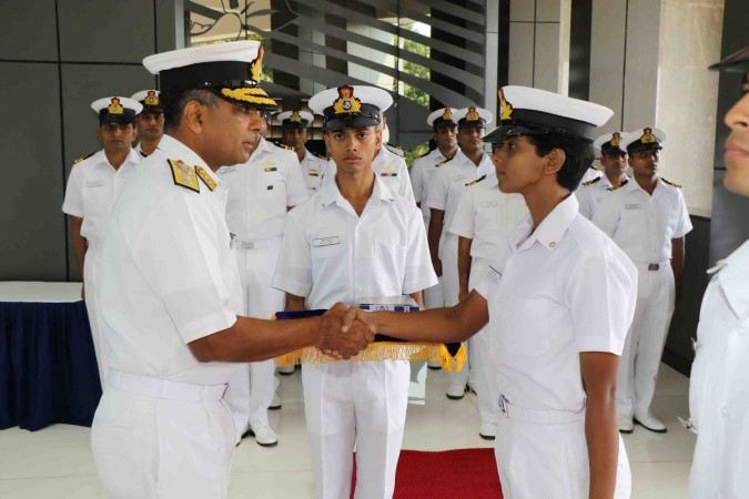 Malayali, among 3 women, joins Indian Naval Armament Inspection
