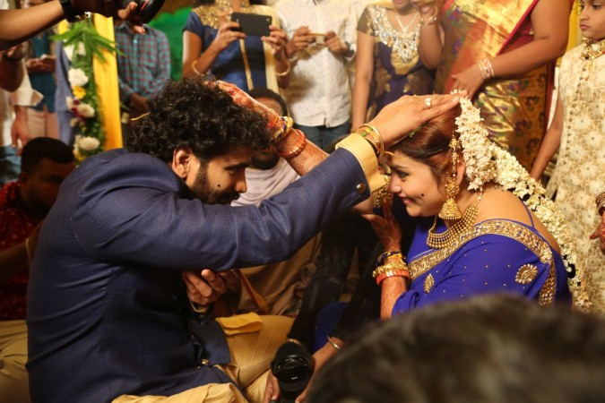 Namitha-Veerandra Chowdhary marriage: Sarath Kumar and Bigg Boss Tamil contestants grace the wedding