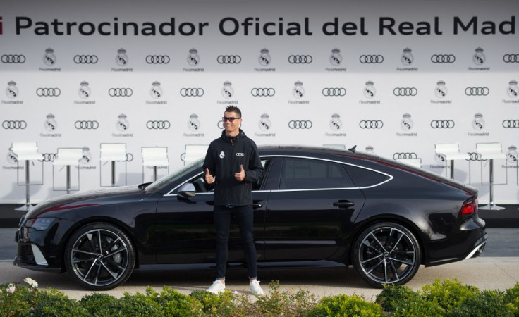 Audi gives Real Madrid stars brand-new company cars
