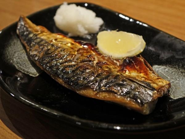 Mackerel, oily fish,