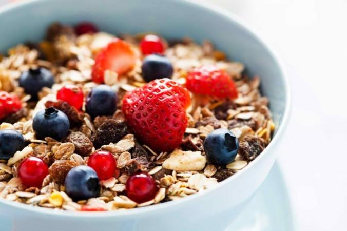 Fortified breakfast cereal, breakfast,