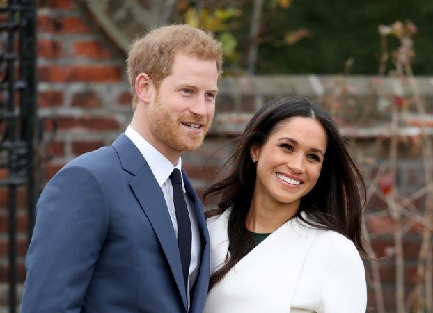 Prince Harry and fiancée Meghan Markle release engagement pictures