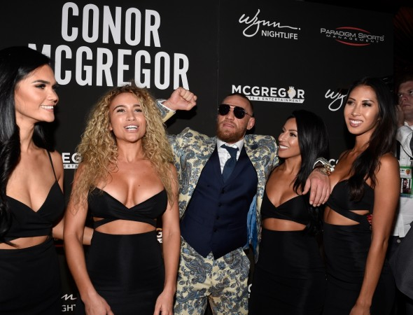 Conor McGregor receives £350 fine for speeding