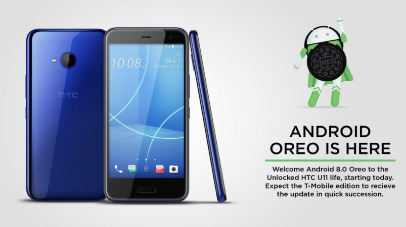 Mobile HTC U11 Life Receiving Oreo Update