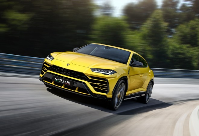 Lamborghini Urus SUV launched in India at Rs 3 crore