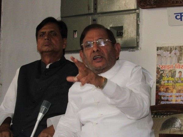 Sharad Yadav speaks after RS disqualification: My fight for democracy will continue