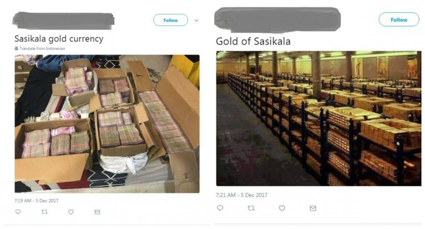 Sasikala Gold