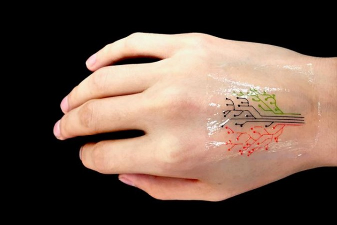MIT engineers print 'living tattoo' with bacteria cells