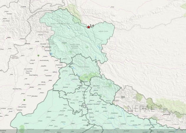 5.1 magnitude quake strikes Thang in Jammu and Kashmir