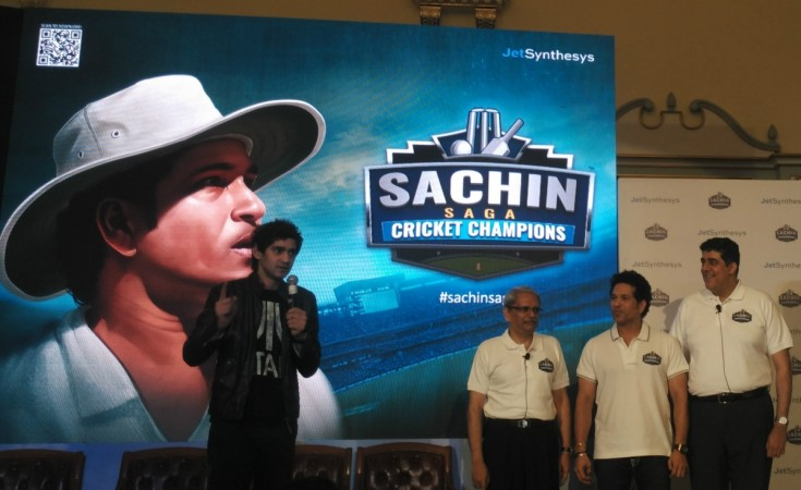 Sachin Tendulkar launches new mobile game on his cricket career