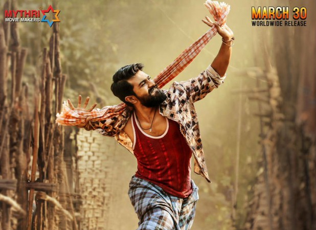 First look of Ram Charan's 'Rangasthalam' is out