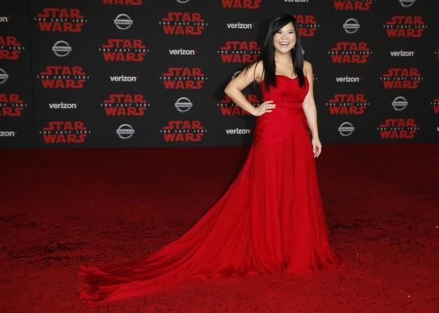 Star Wars: The Last Jedi's Daisy Ridley 'starry' black ...