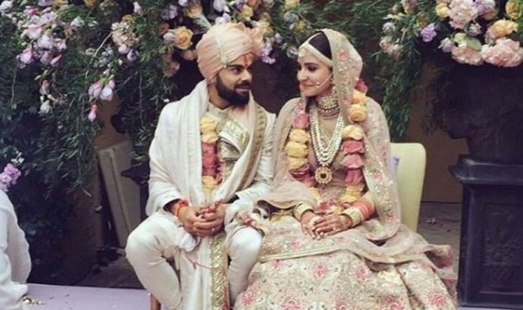 Virat & Anushka's wedding song listen here
