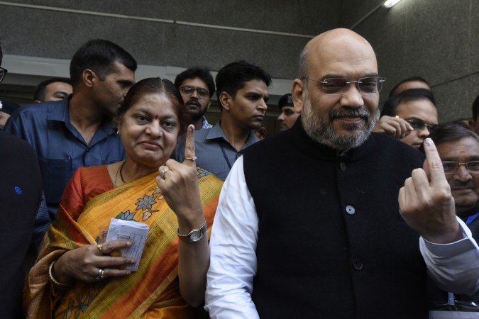 Amit Shah takes front row on debut day in Parliament