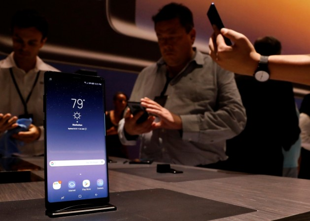 Samsung issues statement over battery woes with the Galaxy Note 8