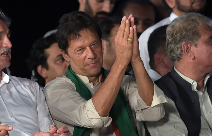 Jemima 'reaching' Pakistan to celebrate Imran Khan's victory