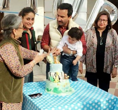 Look how Bebo and Lolo enjoy the Taimur birthday bash