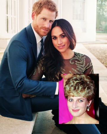 Prince Harry Meghan Markle Princess Diana