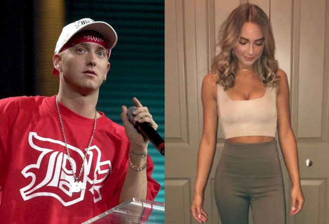 Eminem's daughter Hailie flaunts ample assets while rapper ...