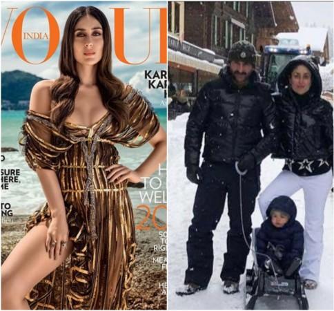 Taimur, Saif and Kareena are in Switzerland for New Year celebrations