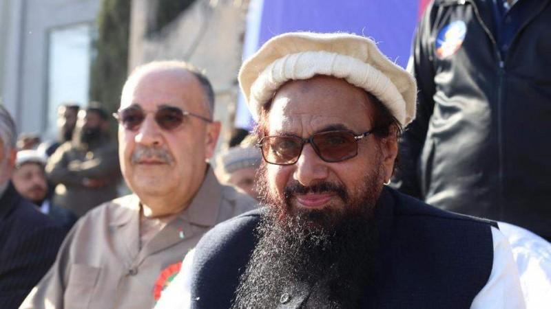 Hafiz Saeed with Walid Abu Ali