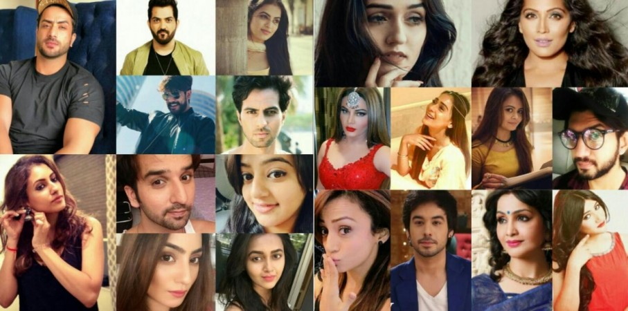TV celebs on New Year 2018
