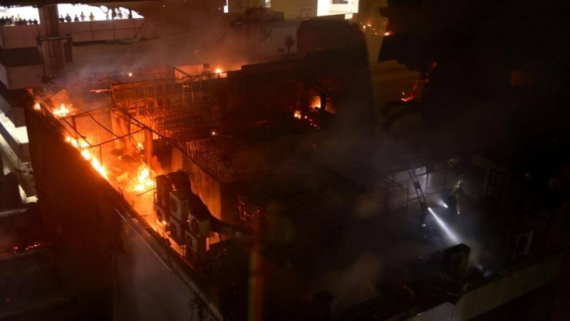Three killed in two separate fire mishaps in Mumbai