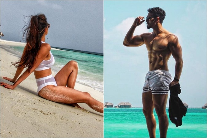 Disha Patani and Tiger Shroff flaunt their picture ideal bodies