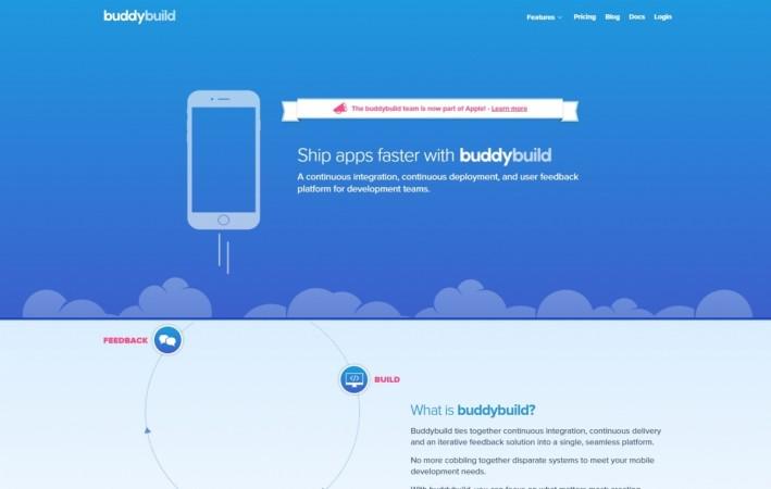 Apple acquires app Buddybuilding startup