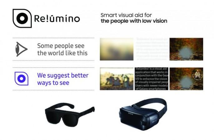Samsung Relúmĭno smart glasses