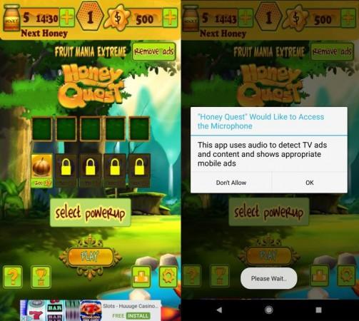 Honey Quest app