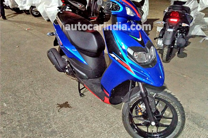 aprilia sr 125 to be launched on january 15 price specifications features leaked. Black Bedroom Furniture Sets. Home Design Ideas