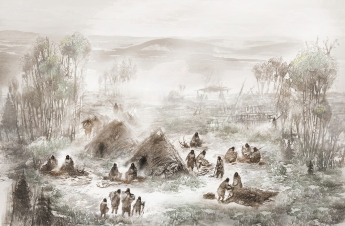 Dead infant reveals unknown Native American population