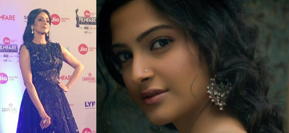 Sridevi, Sonam Kapoor