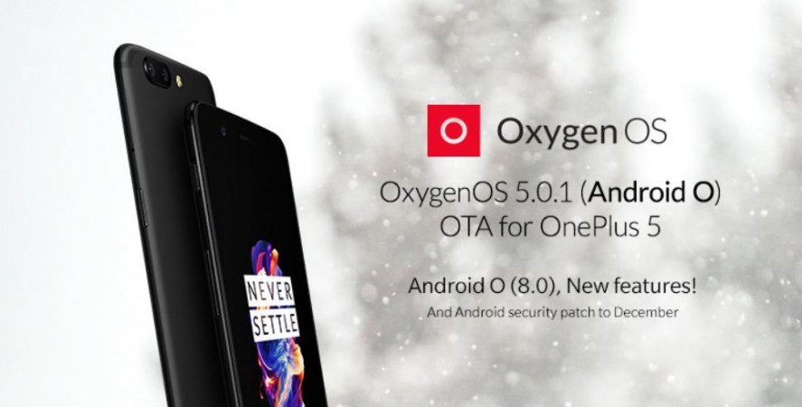 OnePlus 5T Oxygen OS 4.7.6 update brings camera improvements and more