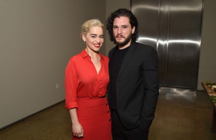 Kit Harington Emilia Clarke Game of Thrones