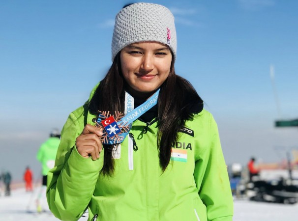 Aanchal Thakur bags India's first Skiing Medal