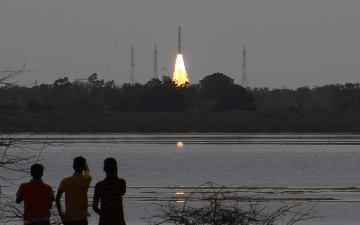 ISRO's 100th satellite takes off