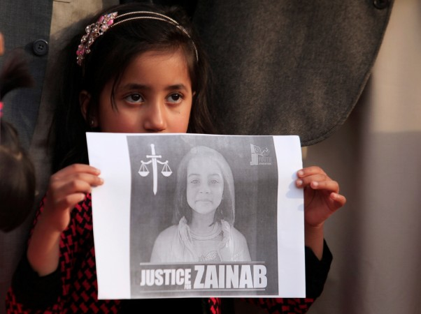 Punjab Chief Minister says arrested 'serial killer' confessed to killing Zainab, others