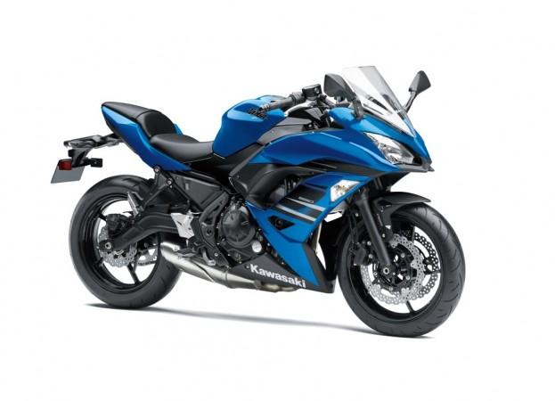 Kawasaki Ninja 650 ABS in blue